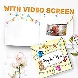 bigDAWGS greetings Mi primer año vídeo Álbum   En primer regalo de cumpleaños, bebé del recuerdo de libro, del libro de recuerdos del bebé, bebé Diario   4.3' Pantalla LCD 00048
