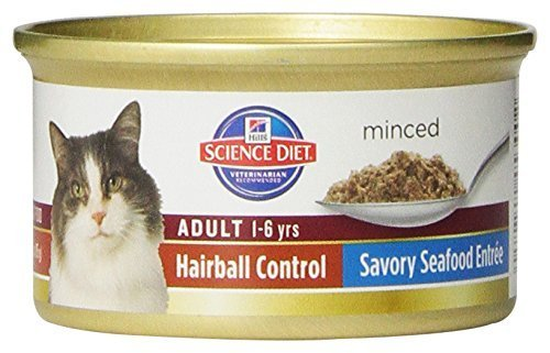 hills-science-diet-adult-hairball-control-savory-seafood-entree-minced-cat-food-3-ounce-can-24-pack-