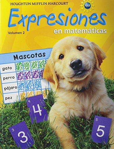 Math Expression, Grade K Student Activity Book: Houghton Mifflin Harcourt Math Expression Spanish: 2 (Math Expressions 2009-2012)