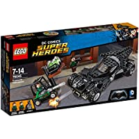 Lego 76045 DC Universe Super Heroes Kryptonit-Mission im Batmobil, Superhelden-Spielzeug
