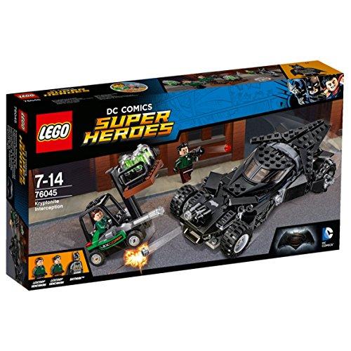 Minifiguren Lego-bösewichte (LEGO Super Heroes 76045 - Kryptonit-Mission im Batmobil, Superhelden-Spielzeug)