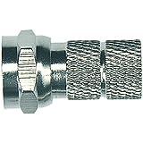 Axing CFS 0-02 connecteur fiche F à visser pour câbles de 7mm de diamètre (10 unités)