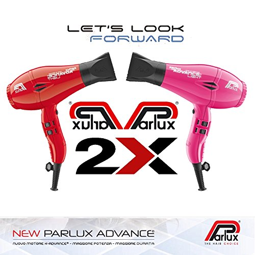 Parlux ADVANCE LIGHT Ionic & Ceramic Piezas 2 **BiPack Colores