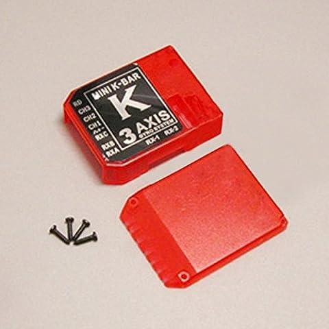 Bluelover K8 3 Axis Gyro kbar V2 Parti Flybarless sistema kbar Colorful Caso Red