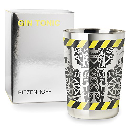 Ritzenhoff Next Gin Design Ginglas, Gin Tonic, Becher, Schnaps, Glas, Frühjahr 2017, Studio Job, 250 ml, 3530007