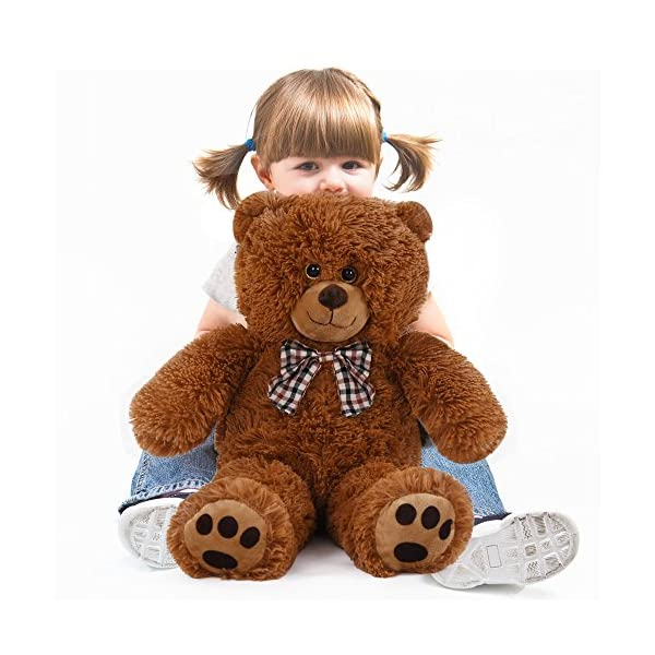 Teddy Bear L-XXXL Size and Colour Choice Kids Soft Plush Teddies Brown or White Big Large Giant Child Toys Dolls