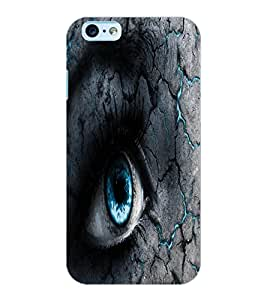 ColourCraft Scary Eyes Design Back Case Cover for APPLE IPHONE 6S
