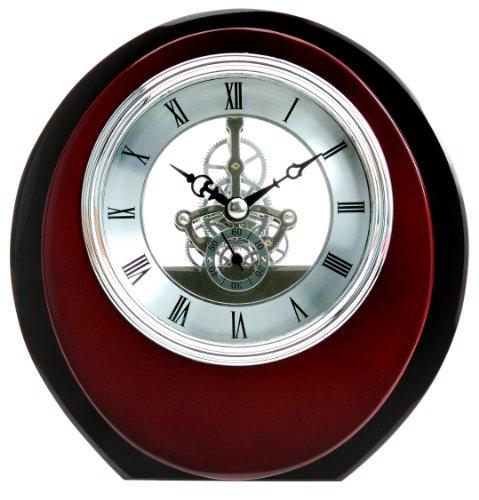 Acero di legno scheletro orologio da (Scheletro Orologio Da Tavolo)