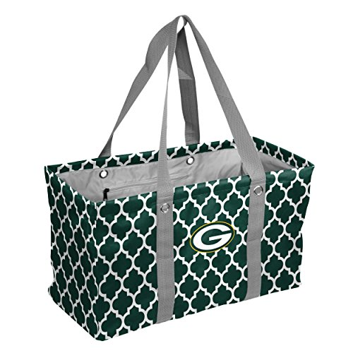 Heckklappe Decke (NFL Green Bay Packers Vierpass-Picknick Caddy Vierpass-Picknick Caddy, Hunter, One size)