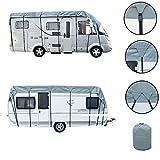 Wohnwagen & Wohnmobil Schutzdach 5 bis 8 Meter Länge, 3 Meter Breite, 3 Schichten 160g, Winter geeignet (5 Meter)