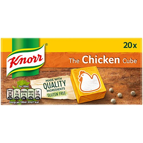 Knorr Chicken Stock Cubes, 20 x 10 g