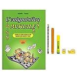 L'enigmistica musicale. Corso di teoria musicale per bambini con giochi e quiz (Volume 1) | Kit Cancelleria in Omaggio