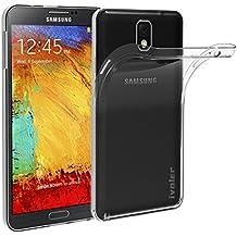 Samsung Galaxy Note 3 Funda, iVoler TPU Silicona Case Cover Dura Parachoques Carcasa Funda Bumper para Samsung Galaxy Note 3 SM-N9005, [Ultra-delgado] [Shock-Absorción] [Anti-Arañazos] [Transparente]- Garantía Incondicional de 18 Meses