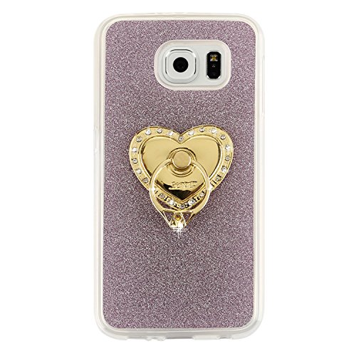 iPhone 7 Plus Bling Case, Per Apple iPhone 7 Plus Cover Silicone, Asnlove Custodia Flessible TPU Silicone Caso Bling Custodia in Gel Silicone Della Antiurto Strass Glitter Crystal Clear Cellulare Prot Color8