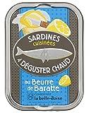 Boite de sardines au beurre de baratte