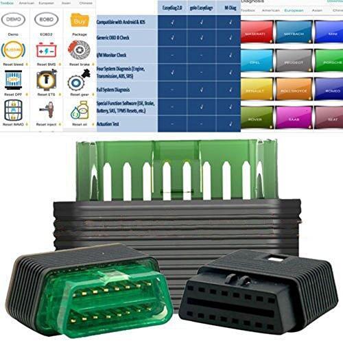 Autool Launch M-Diag Lite Plus per iOS Android strumenti integrati Bluetooth OBDII Codice Scanner Automotive diagnostica Aggiornamento in linea Solo Hardware