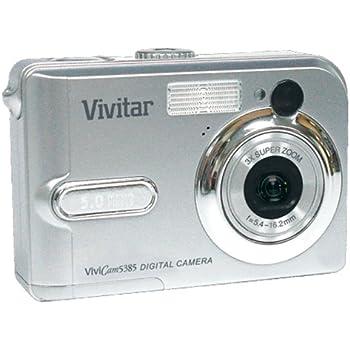 Amazon. Com: vivitar vivicam 5385 5mp digital camera with 3x.