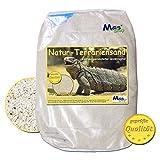 25 kg Terrariensand NATUR BEIGE weich & rund geprüfte Qualität