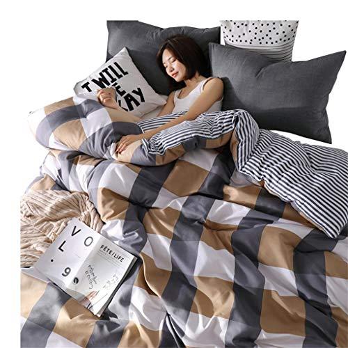 Quilt Reversible Baumwolle Alternative warm und weich für die ganze Saison gesteppte Tröster mit Ecke Tabs genäht Alternative Tröster (größe : 150cmx200cm2.5kg) -