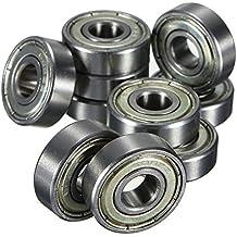 623 ZZ//623Z//623 2Z Kugellager 3x10x4 mm DIN 625-1 Industriequalit/ät mit Leichtlauffett 2ZR ZR