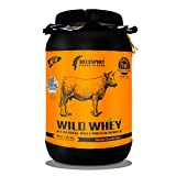 #10: DrexSport, Wild Whey Protein Powder | World's 1st Formula | Organic, Grass Fed, 100% Pure Natural Supplement for Men and Women | Best for Muscle Build, Weight Loss, Well Health and Fitness | Isolate + Concentrate | Chocolate 1kg