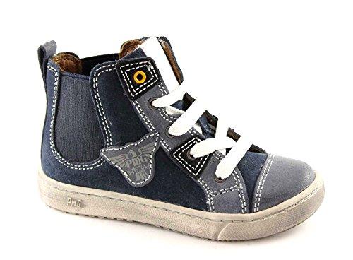 PRIMIGI 41561 30/35 blu scarpe bambino sneaker alta elastico lacci Blu