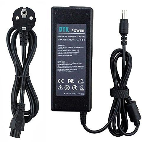 DTK Chargeur Adaptateur Secteur pour SAMSUNG : 19V 4,74A 90W Connecteurs: 5.5*3.0mm Alimentation pour ordinateur portable