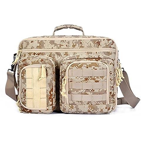 YAKEDA Ordenador portátil al aire libre mochilas de viaje Mochila Mochila con diseño resistente a la rotura bolsas de viaje de mochila hasta 15,6 pulgadas Macbook del ordenador portátil del ordenador Mochila-KF-038