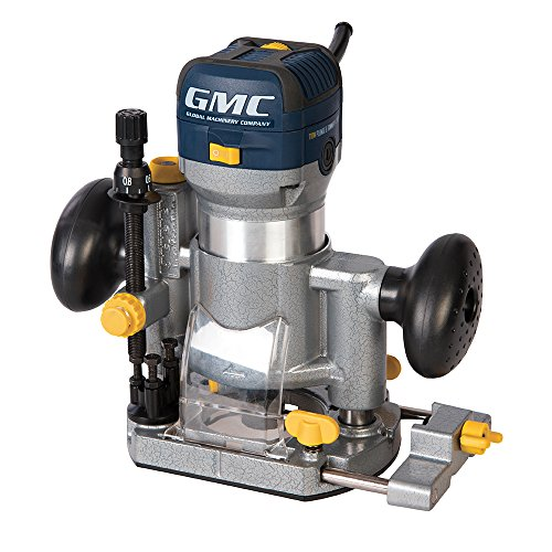 """GMC 732455 - Fresadora multifunción Œ"""", 710 W (GR710)"""
