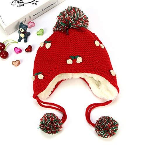 MS.REIA Baby-Mädchen-Warmer Winter-Hut mit Earflap verdicken Fleece-Beanie-Hüte für Kinder große Geschenk-Mehrfarbenwahl Crazy Fleece Hüte