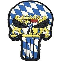 Feld-Schmiede Bayern Schädel Skull Patriot Punisher Patch