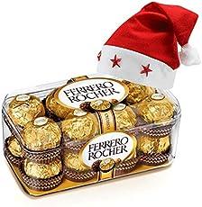 SFU E Com 16-Pieces Ferrero Rocher with Christmas Cap Hamper