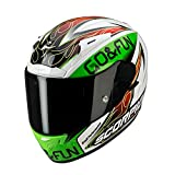 Casco Scorpion On-Road-EXO-2000Air-Bautista-bianco/verde/rosso