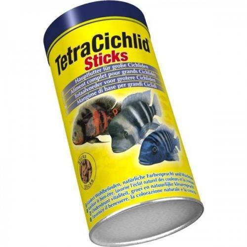 Tetra Cichlid Sticks 1000 ml, Flockenfutter, Hauptfutter -