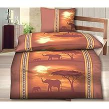 Bettwäsche Afrika Elefanten Suchergebnis Auf Amazonde Für