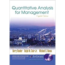 Quantitative Analysis for Management and Student CD-ROM with CDROM