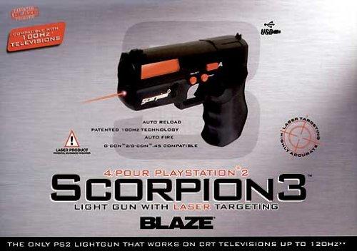 Playstation 2 Light Gun -- Scorpion 3