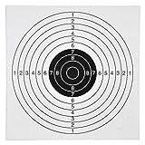 Zielscheiben 100x für Kugelfang 14x14cm Luftgewehr Luftpistole