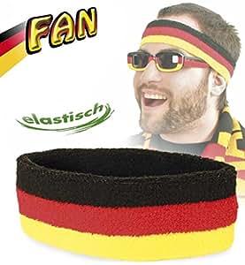 Stirnband FAN, Deutschland, Fußball, WM, EM