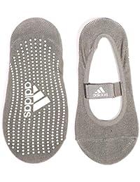 adidas ADYG-30101GR Calcetines de Yoga, Unisex, Gris, S/M