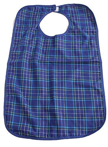 FreshGadgetz Set 1 Wasserdichtes Lätzchen für Erwachsene, Ältere oder Behinderte