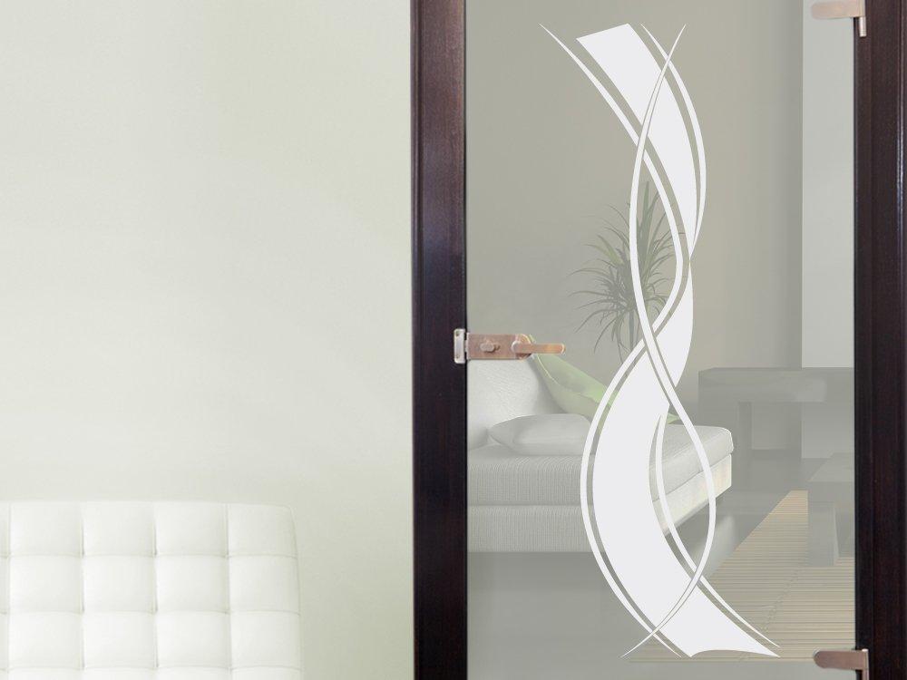 Graz Design Glasdekor Glastür Aufkleber Fensterfolie Für - Wohnzimmer glastur
