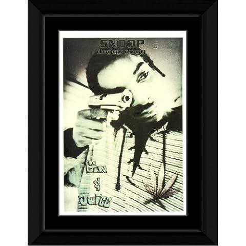 Snoop - ginebra N jugo Póster enmarcado - 14,7 x 10,2 cm