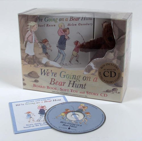 We're Going On A Bear Hunt (Book Toy & CD Gift Set)
