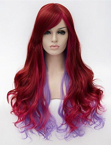 Fashion wigstyle europäischen und amerikanischen Verkauf Fashion Girl Essential gemischt Farbe Qualität, lockigen Perücke auf Verkauf ()
