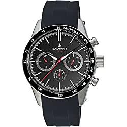 Reloj Radiant hombre Empire Steel negro RA411601 [AB9298] - Modelo: RA411601