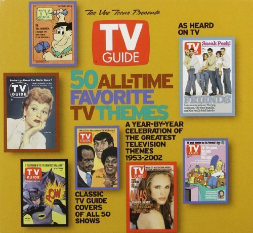 tv-guide-50-all-time-favorite-themes-limited-edition-w-50-tv-guide-cover-cards-by-tvt