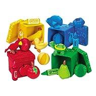 Cajas para descubrimiento de colores, ordena y aprende