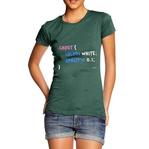 TWISTED ENVY - Camicia - Maniche corte  - Donna Bottle Green