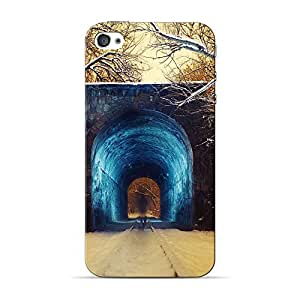 Mobile Back Cover For Apple iPhone 4 (Printed Designer Case)